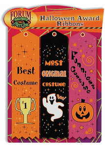 Ribbon - Halloween Award Ribbons 3pk