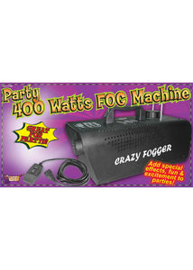 Fog Machine - 400 Watt Fog Machine - Black