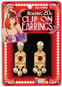 Earrings - Pearl 20s Flapper Earrings