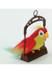 Meet Walter - Motion Activated Adorable Pet Parrot on Perch