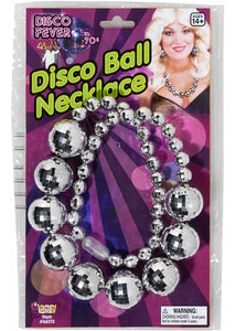 Necklace - Disco Fever - Disco Ball Necklace