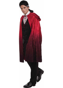Cape - Vampire Two Tone Hooded Cape