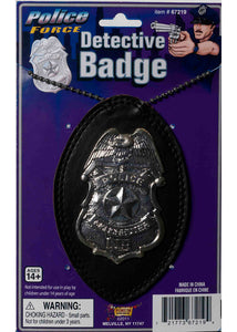 Badge - Deluxe Detective Badge On Chain