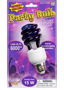 Black Light - Energy Efficient Bulb