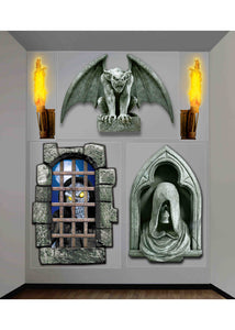 Scene Setter Add-On - Dungeon.Creepy Giant Wall Decor