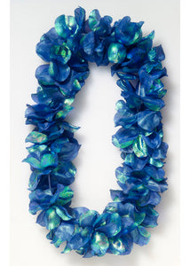 Dlx Pearlized Lei-Blue