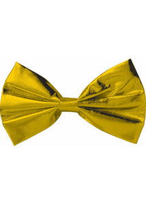 Bow Tie Lame - Gold