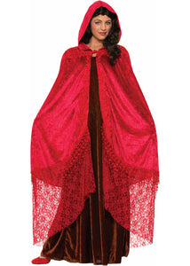 Cape - Elegant Cape - Ruby