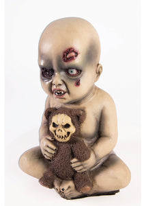 Evil Baby with Teddy Bear Prop