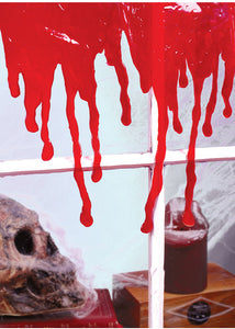 3D Drips Of Blood - Bloody Window Décor-Drips