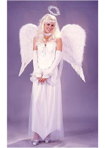 31in Angelic Feather Wings-White