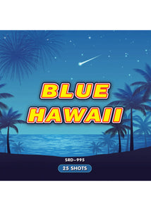 Blue Hawaii - 25 Multi-Shot Cake