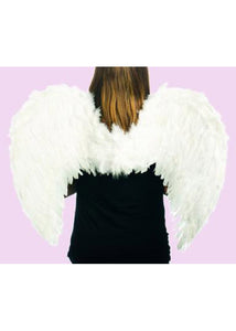 Wings - 31in Feather Angel Wings - White