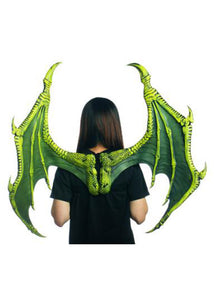Dragon Wings - Supersoft Deluxe Dragon Wings - Green