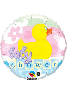 Baby Shower Neutral - Rubber Ducky 18in Foil Balloon