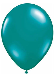 Green - Teal Jewel Tone 11in Latex Balloon 100pk