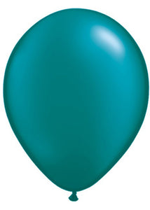 Green - Teal Pearlized 11in Latex Balloon 100pk