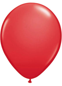 Red 11in Qualatex Latex Balloon 100pk