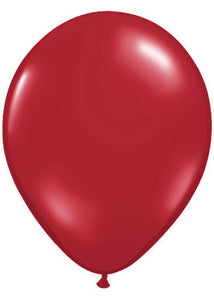 Red - Ruby Red Jewel Tone 11in Latex Balloon 100pk