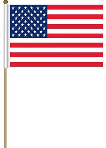 USA - Flag - 12in x 18in American Stick Flag