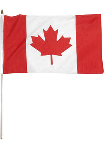 Canada Flag - On A Stick 4in x 6in