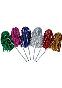 Wand - Tinsel Shaker Wand-Assorted Colours