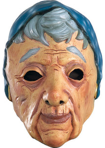 3/4 Vinyl Mask-Old Lady