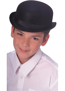 Derby/Bowler Hat - Black - Child Size