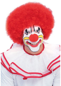 Afro - Deluxe Clown Afro Wig-Red
