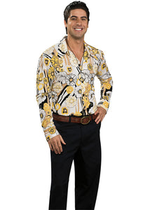 Shirt - Feeling Groovy Shirt-Yellow