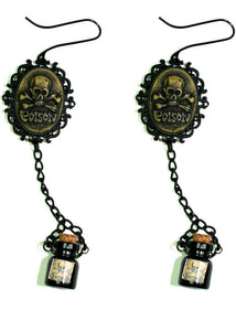 Cameo Earrings - Poison