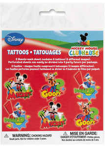 Disney Mickey Mouse Clubhouse Loots - Tattoos 2 Sheets