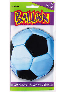 Soccer - 3-D Soccer Ball 18in Foil Balloon