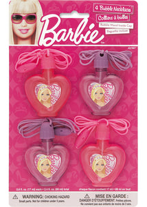Barbie Loot - Barbie Bubble Necklaces 4pk