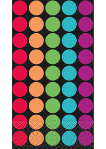 Retro Dots - Tableware - Napkin - Guest Towel - 24pk
