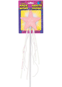 Wand - Star Wand with Feathering & Tassels
