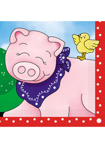 Farm Friends Napkins - Luncheon Napkins 16pk