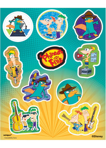 Disney - Phineas & Ferb Loot - Sticker Sheets 4pk