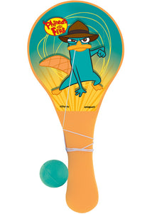 Phineas & Ferb Loot - Paddle Balls 3pk