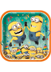 Despicable Me Square 7in Plate