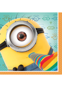 Despicable Me - Tableware - Napkins - Beverage - 8pk