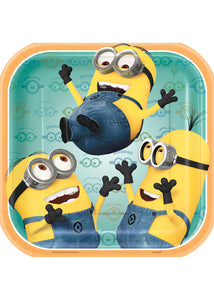 Despicable Me - Tableware - Plates - 7in Square - 8pk