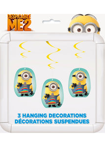 Despicable Me - Decoration - Hanging Swirls - 3pk