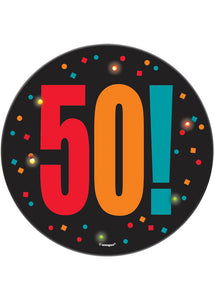 50 - Birthday Cheer Novelty - Binking Birthday Badge