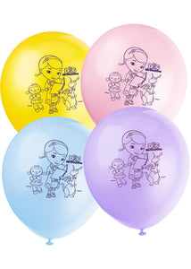 Doc McStuffins Assorted Colours 12in Latex Balloons 8pk