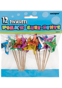 Picks - Pinwheel Picks-12pk