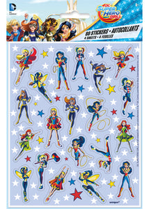 DC Super Hero Girls Stickers - 4 Sheets