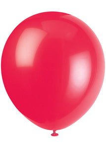 Red - Ruby Red 12in Latex Balloons 72pk