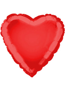 Heart - Red 18in Foil Balloon