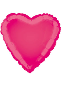 Heart - Pink - Hot Pink 18in Foil Balloon